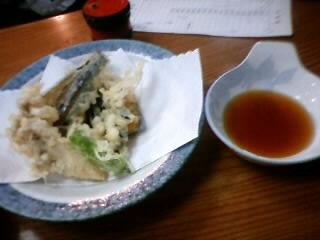 野菜天ぷら(金寶酒蔵)